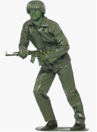 legetøjssoldat kostume til voksne 329x450 - Soldat kostume til voksne