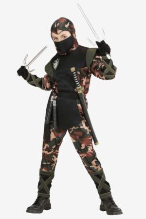 ninja soldat kostume til børn 300x450 - Soldat kostume til børn
