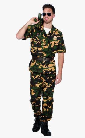 soldat kostume til voksne 279x450 - Soldat kostume til voksne