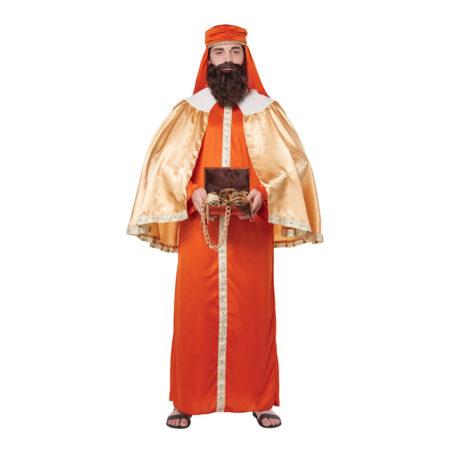 Kasper kostume de tre vise mænd kostume til voksne krybbespil kostume til voksne
