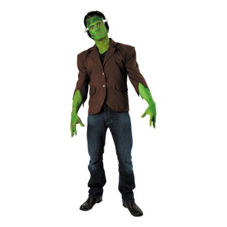 grønt monster klassisk frankenstain kostume til voksne