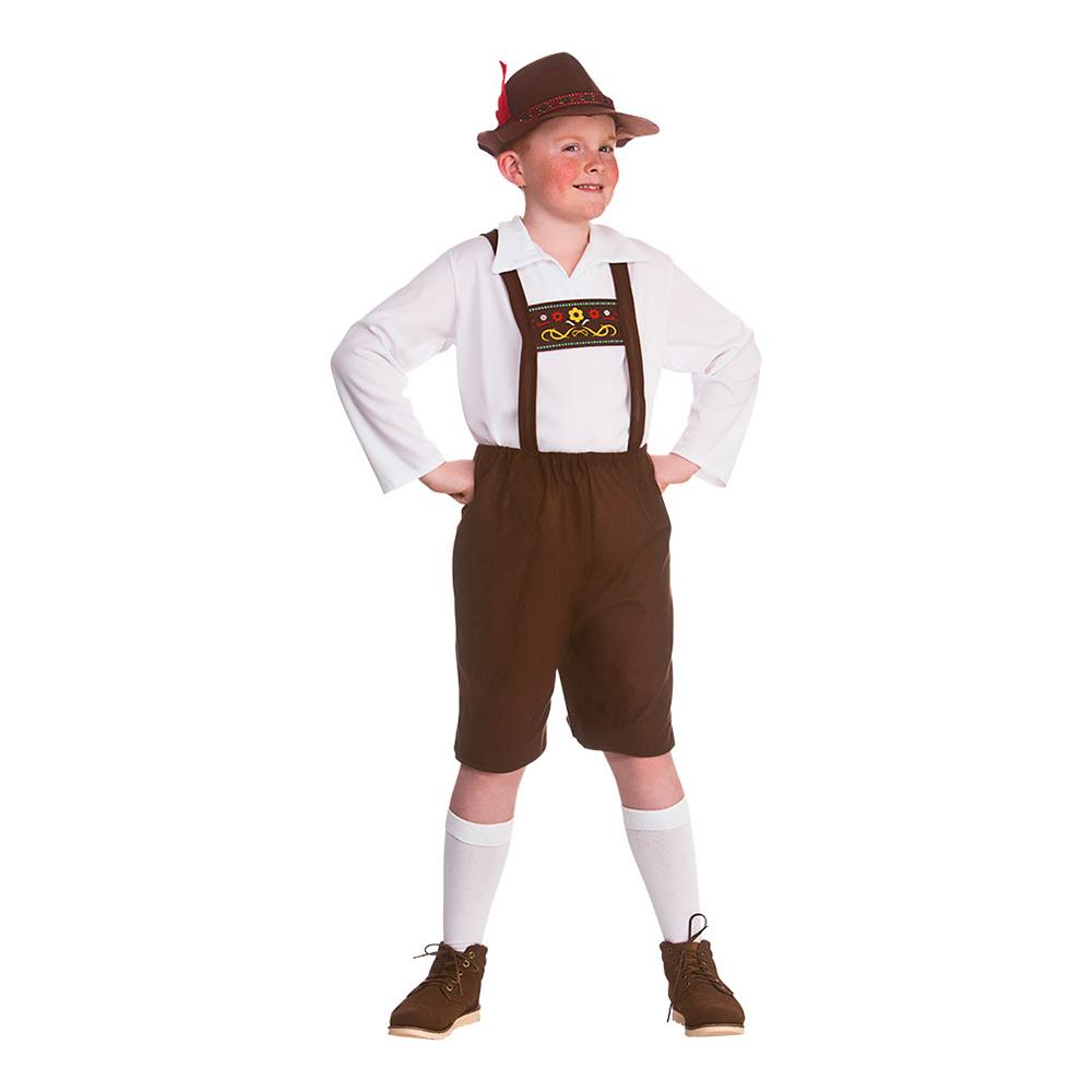 BAYERSK DRENG BØRNEKOSTUME - Oktoberfest kostume til børn og baby