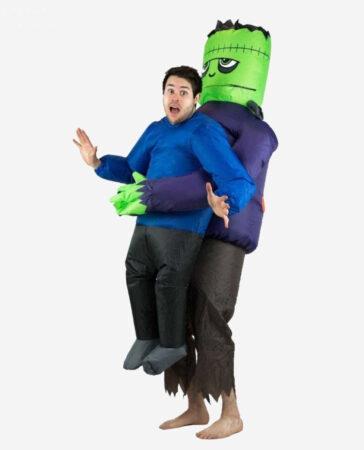 oppusteligt halloween kostume til voksne oppusteligt monster kostume