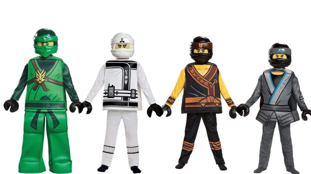 Lego ninjago børnekostume lego ninjago fastelavn kostume