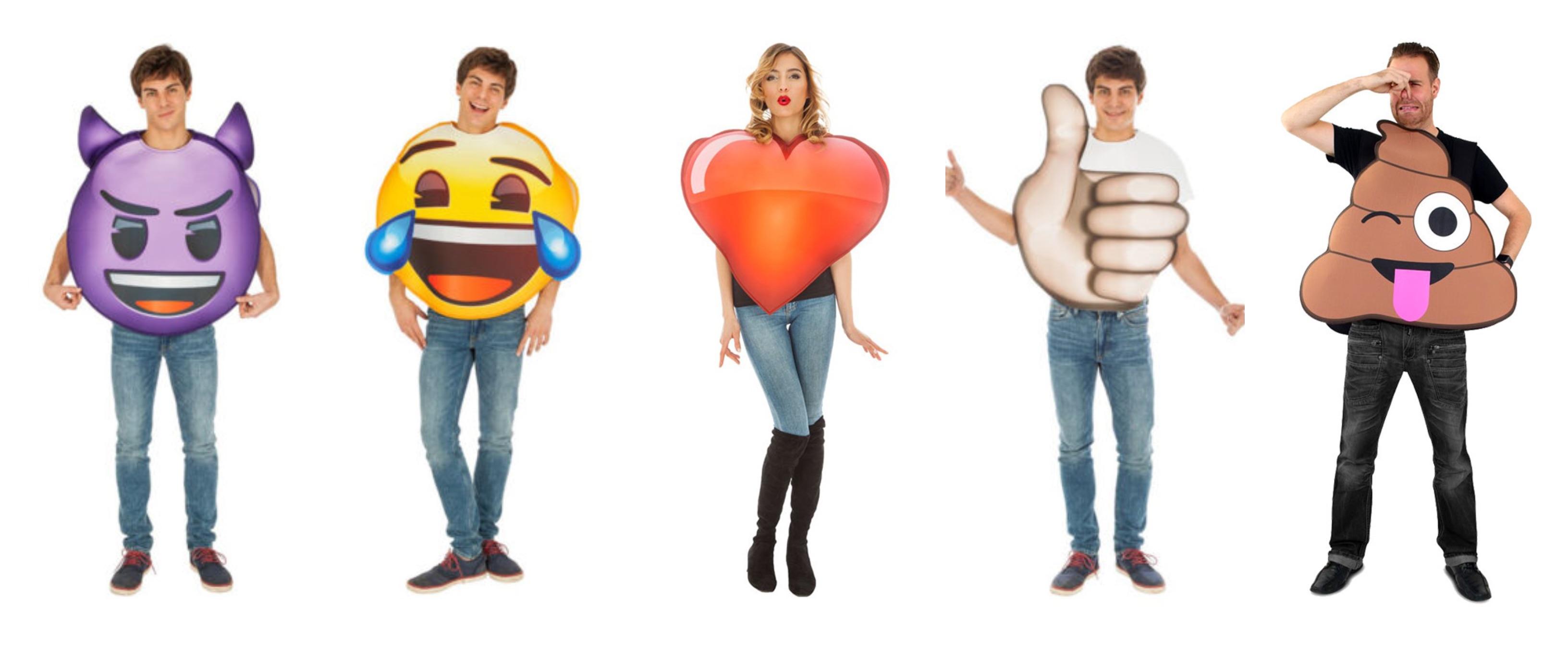 emoji kostume til voksne - Emoji kostume til voksne