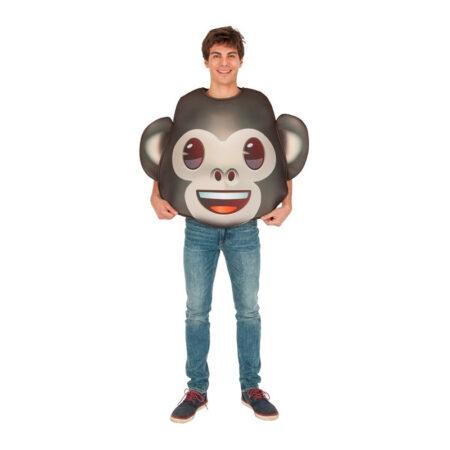 emoji monkey kostume 450x450 - Emoji kostume til voksne
