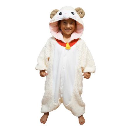 får kostume krybbespil børnekostume får lam