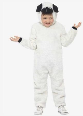 får kostume lam kostume sødt får børnekostume krybbespil kostume