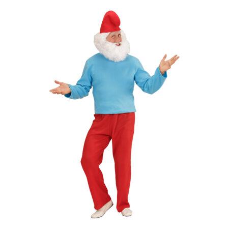 gammelsmølf kostume til voksne 450x450 - Smølfe kostume til voksne