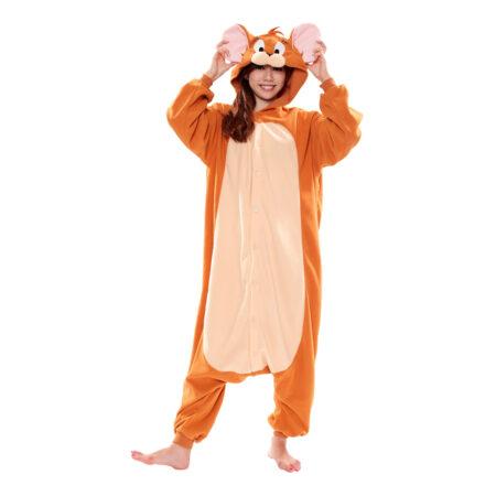 jerry kigurumi kostume til børn 450x450 - Tom og Jerry kostume til børn