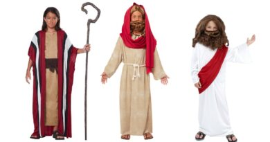 jesus kostume til barn jesus børnekostume