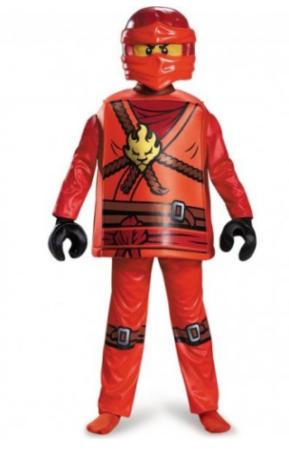 kai lega ninjago kostume til børn luksus fastelavnskostume til drenge lego fastelavnskostume