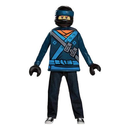 lego ninjago jay luksus udklædning