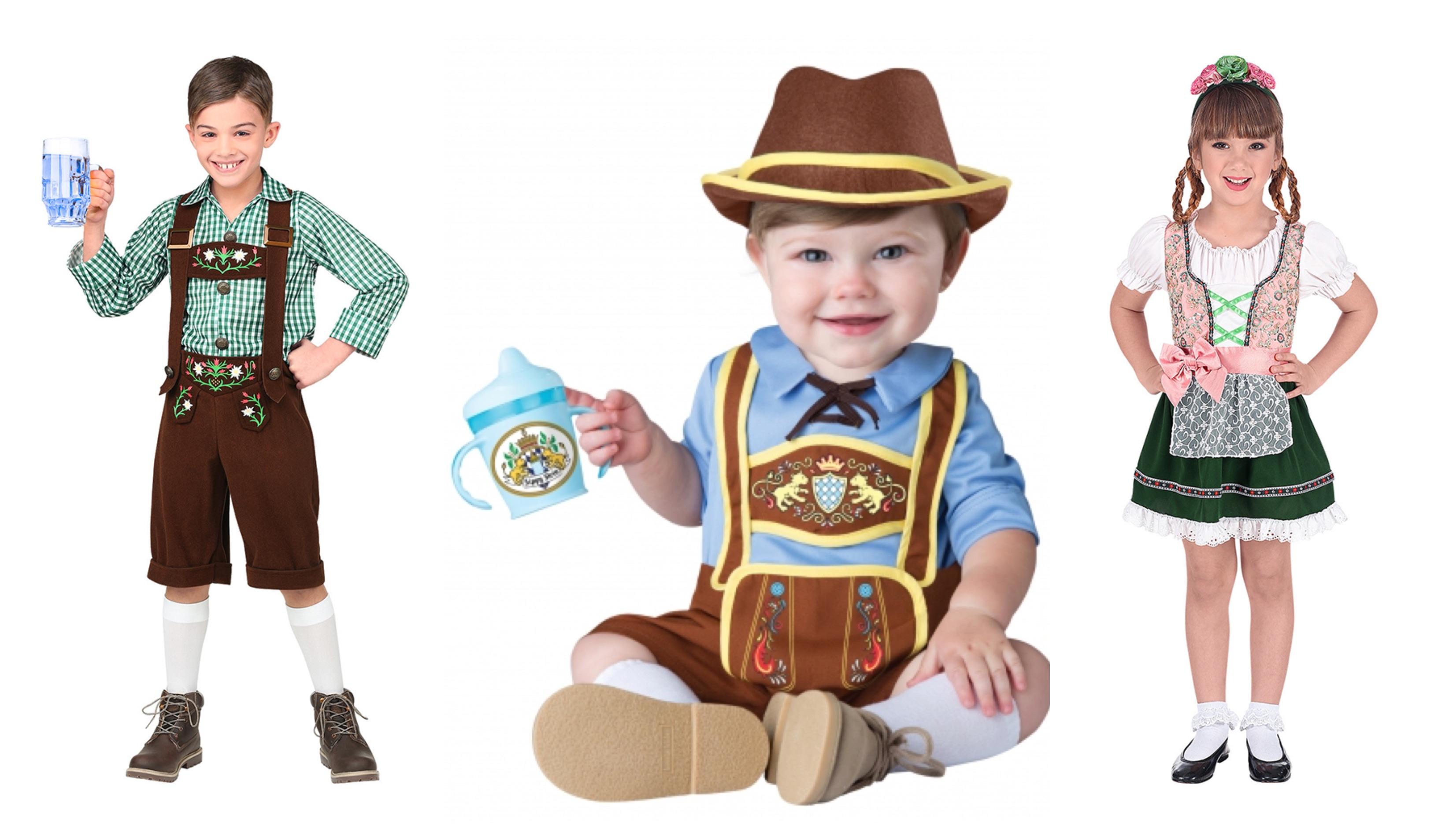 Oktoberfest kostume til børn og baby - KostumeUniverset