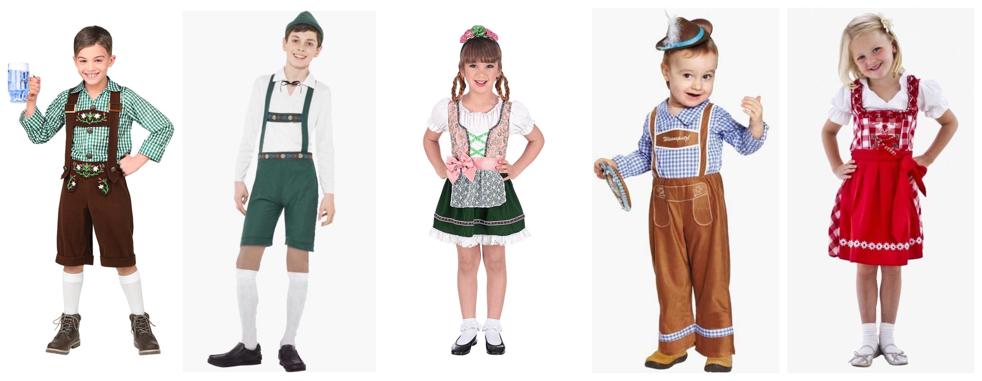 oktoberfest kostume til børn - Oktoberfest kostume til børn og baby