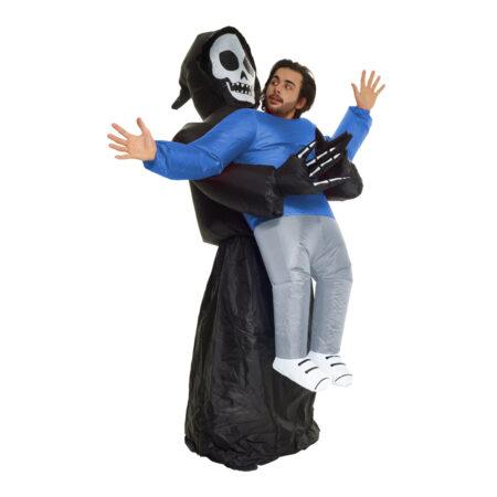 oppustelig døden kostume 450x450 - Oppustelige halloweenkostumer til voksne