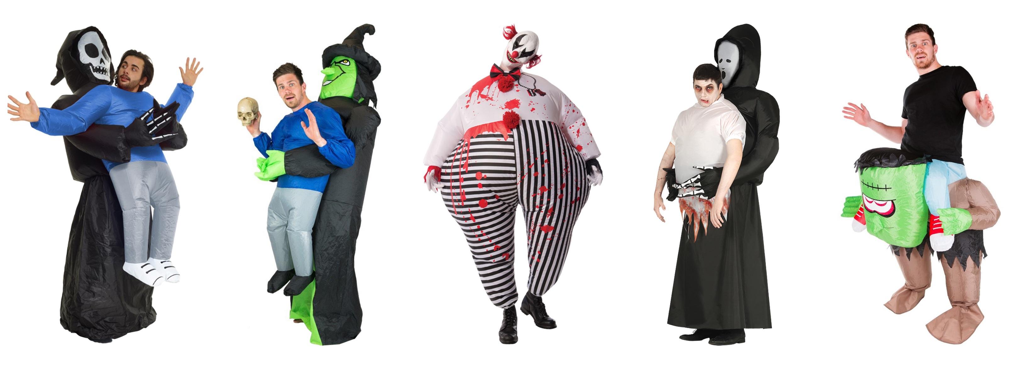 oppustelige halloweenkostumer til voksne - Oppustelige halloweenkostumer til voksne