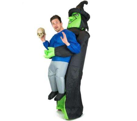 oppusteligt heksekostume til voksne 450x398 - Oppustelige halloweenkostumer til voksne