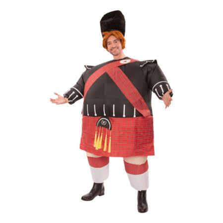oppusteligt skotte kostume 450x450 - Skotte kostume til voksne