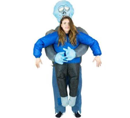 oppusteligt zombie kostume 450x407 - Oppustelige halloweenkostumer til voksne
