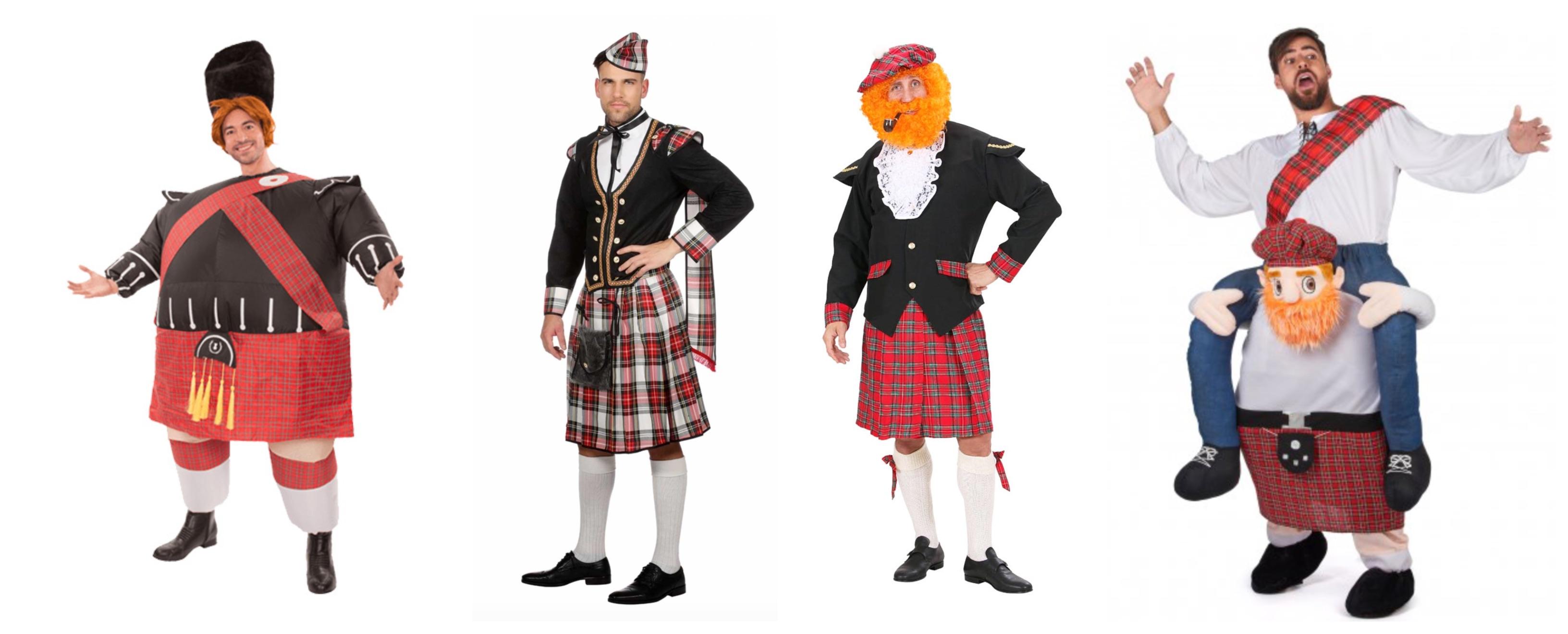 skotte kostume til voksne - Skotte kostume til voksne