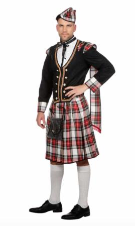 skotte voksenkostume 269x450 - Skotte kostume til voksne