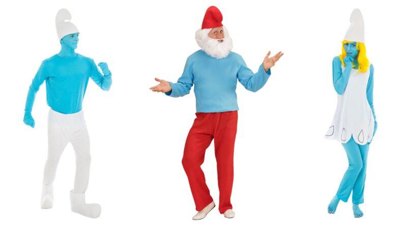 smølfe kostume til voksne 1 800x445 - Smølfe kostume til voksne