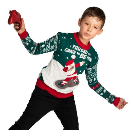 I paused my game juletrøje til børn 450x450 - Jule sweater til børn