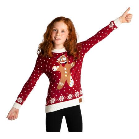 Skør peberkage julesweater til børn 450x450 - Jule sweater til børn