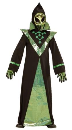 alien hersker alien konge kostume alien maske halloween kostume til børn