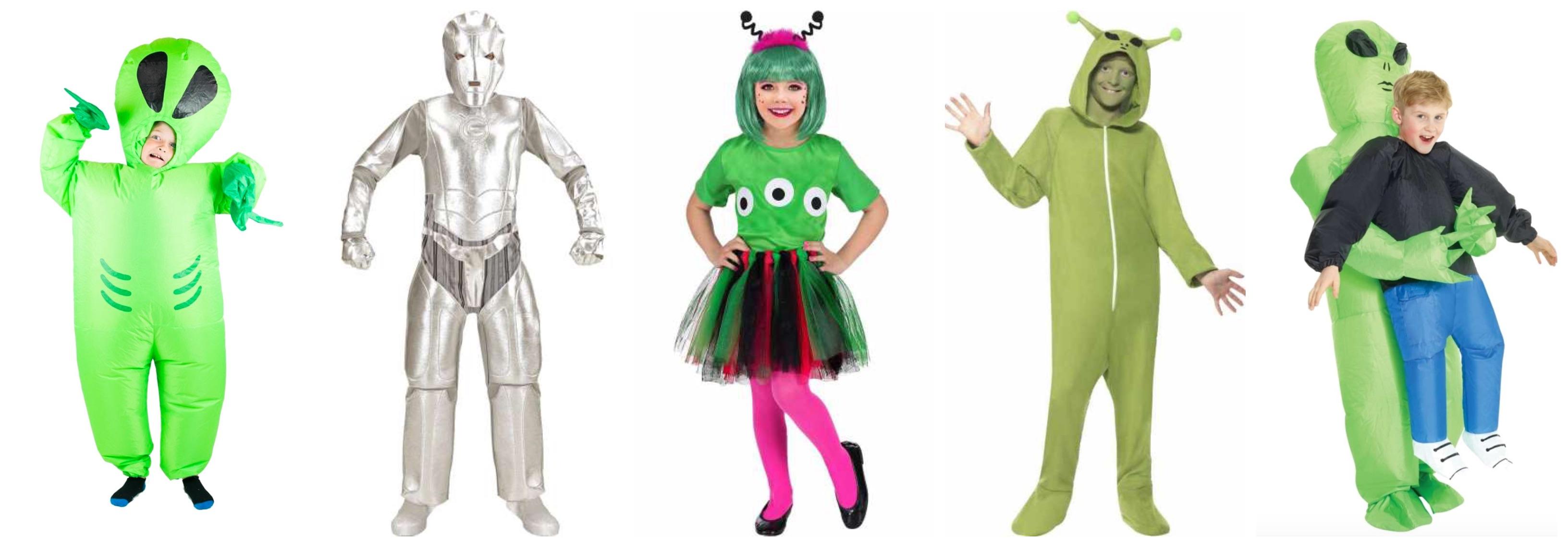 alien kostume til børn - Alien kostume til børn