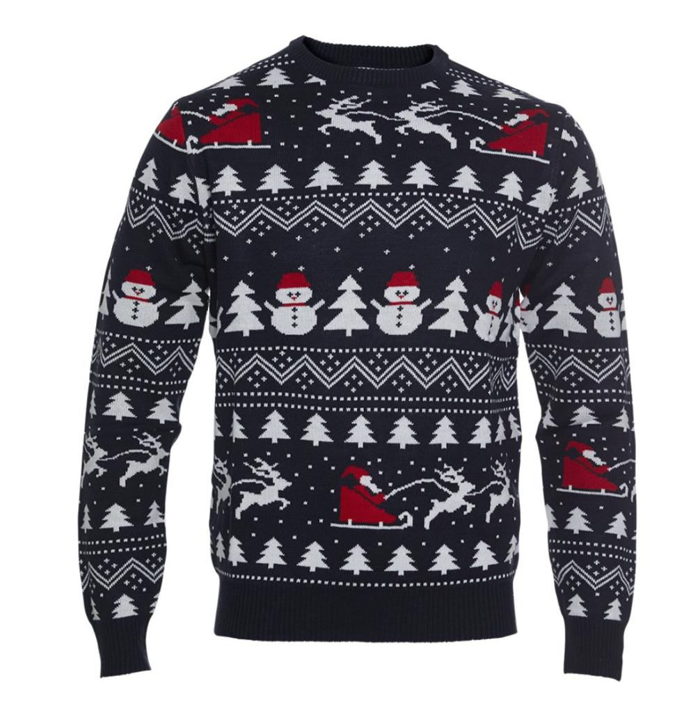 børne julesweater med julemand 993x1024 - Jule sweater til børn