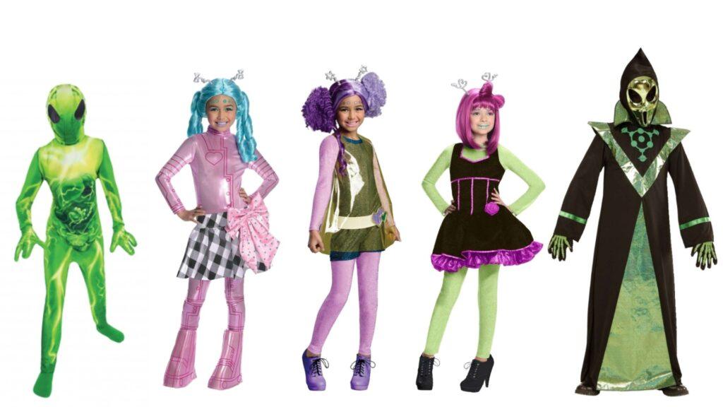 halloween kostume til børn novistars kostume novi stars kostume novi stars tøj alien børnekostume halloween kostume til piger