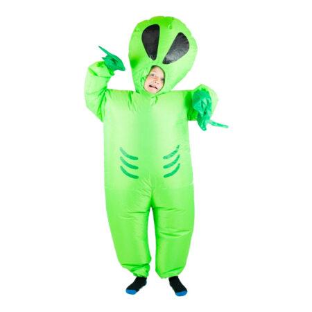 oppusteligt alien børnekostume 450x450 - Alien kostume til børn