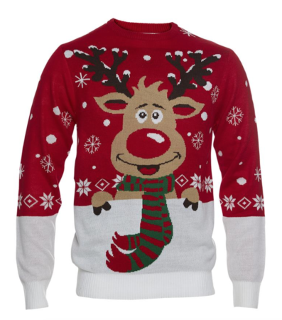 rudolfs julesweater til børn 397x450 - Jule sweater til børn