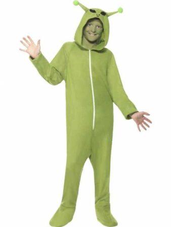 rumvæsen børnekostume 338x450 - Alien kostume til børn