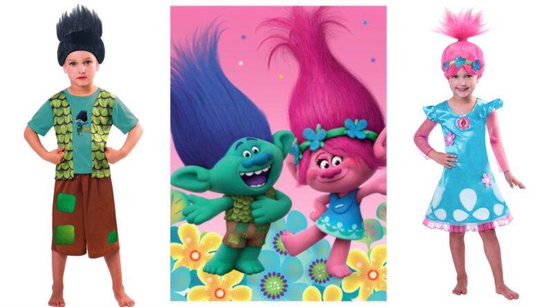 trolls kostume til børn, trolls udklædning til børn, trolls børnekostume, kvist kostume til børn, trolde kostume til børn, trold børnekostume til børn, poppy kostume til børn, trolls poppy børnekostume, fastelavnskostume til børn