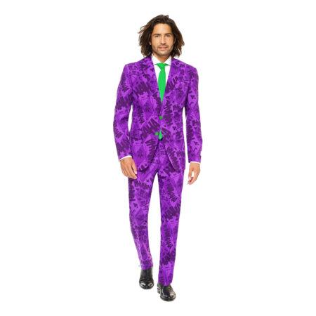 jokeren jakkesæt joker jakkesæt jokeren suit til mænd jokeren opposuit lilla jakkesæt