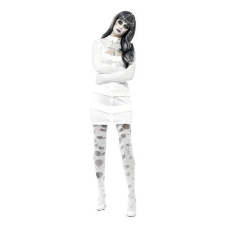 mental patient kostume til voksne spændetrøje halloween kostume til kvinder