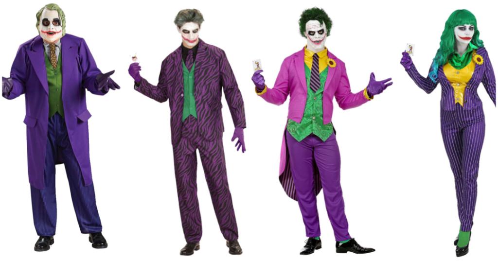 jokeren kostume joker kostume til voksne billigt halloween kostume til voksne