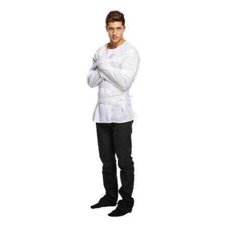 mental patient kostume til mænd lukkede afdeling kostume patient kostume spændetrøje til voksne