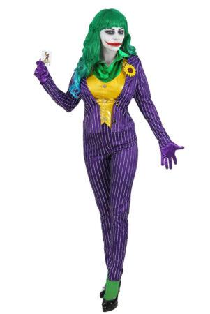 kvindelig joker kostume til voksne joker pige kostume miss joker kostume batman kostume