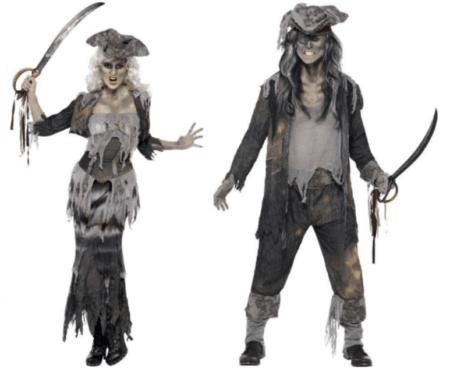 spøgelseskostume til par halloween par kostume til voksne