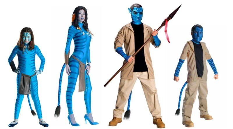avatar kostume til børn avatar kostume til voksne blå kostume neyriti kostume jake sully kostume