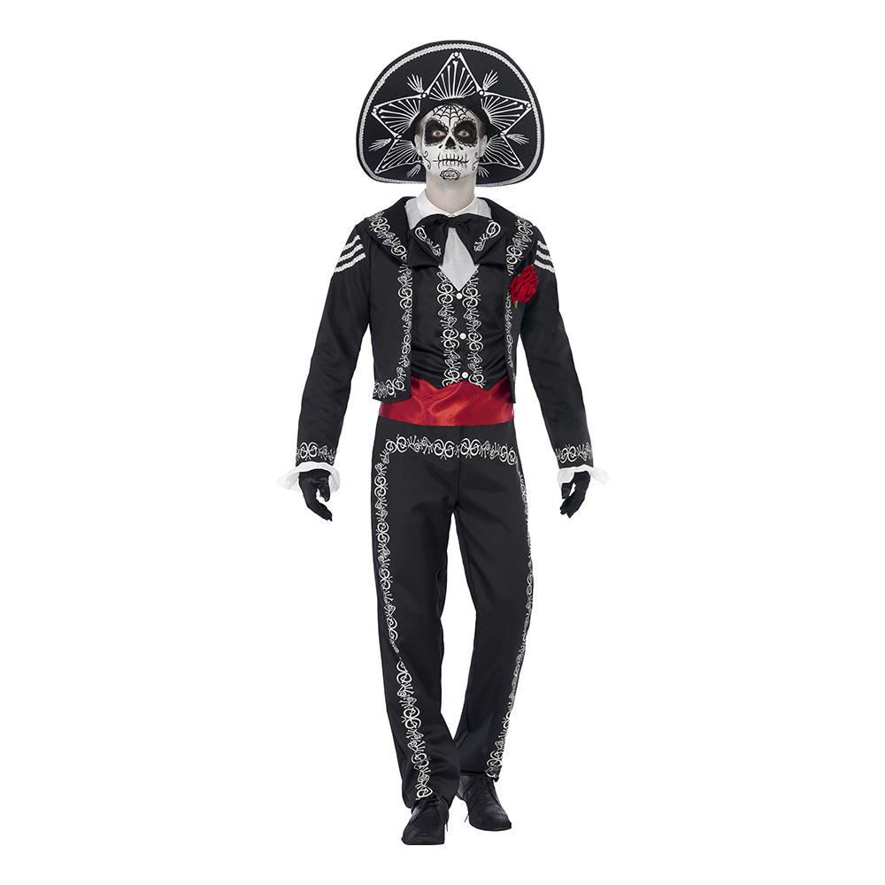 day of the dead senor bones kostume - De dødes dag kostume til de voksne