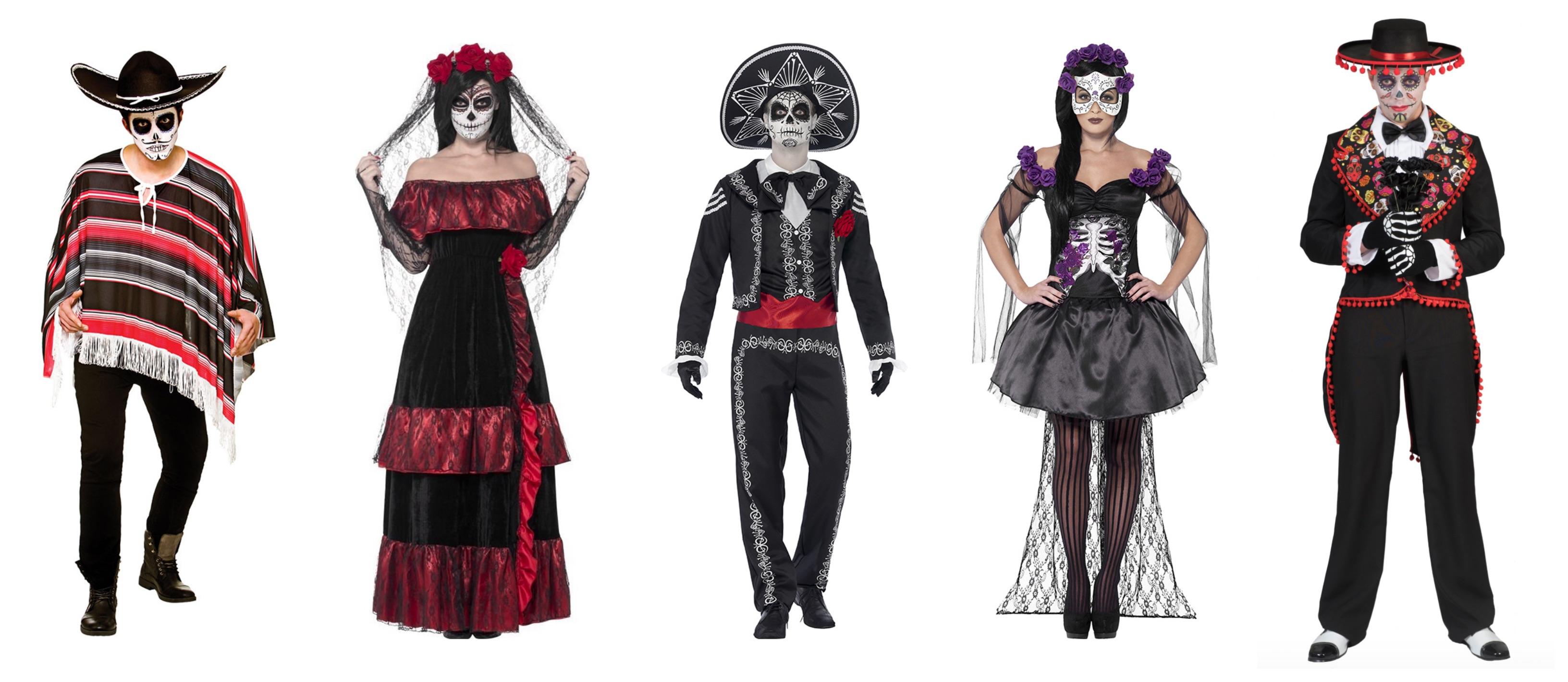 de dødes dag kostume til voksne 1 - De dødes dag kostume til de voksne