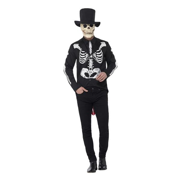 de dødes dag skelet kostume til voksne - De dødes dag kostume til de voksne