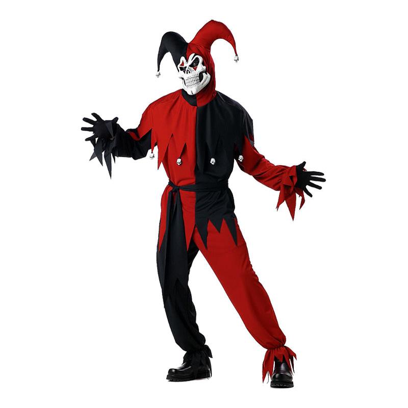 den onde nar kostume plus size - Plus size kostume til halloween