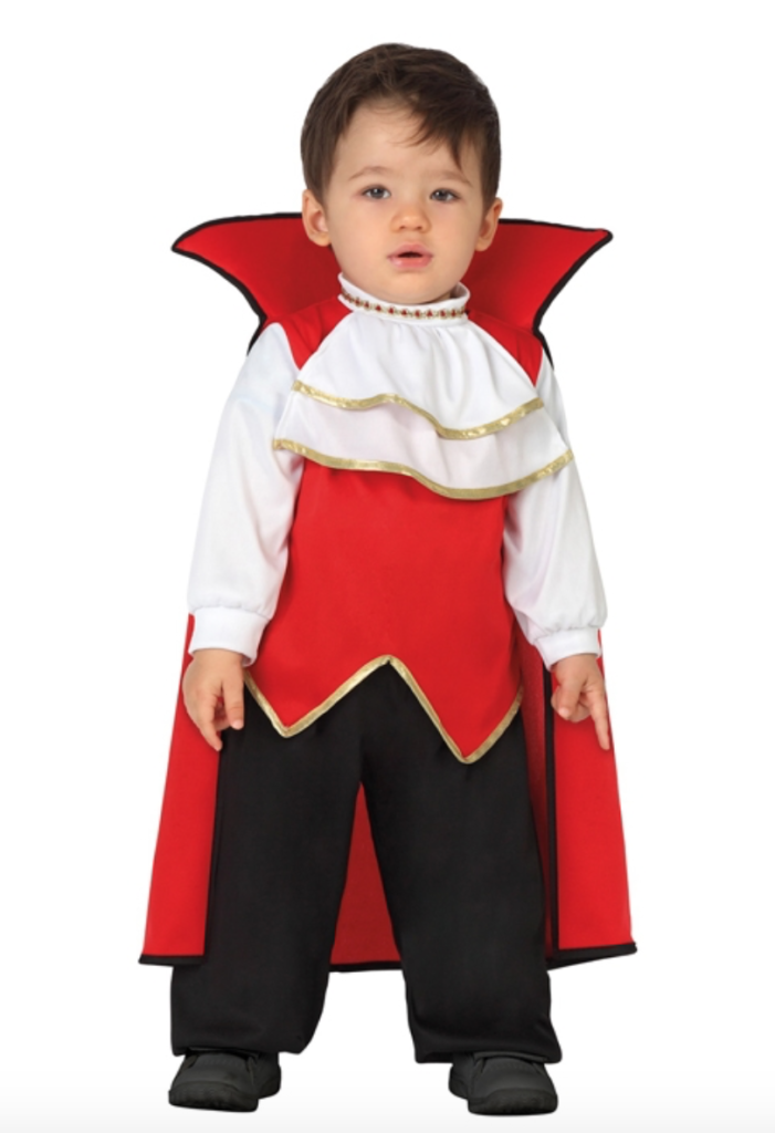 dracula børnekostume til halloween 701x1024 - Dracula kostume til baby