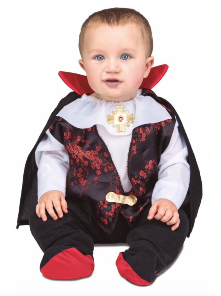 dracula baby kostume 764x1024 - Dracula kostume til baby